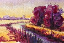 Watercolours at ART101 Gallery - 25 James Street Fortitude Valley / Watercolours on display at ART101 #watercolour
