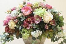 декор цветами