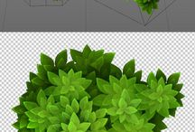 3d Vegetation Inspiration (Cartoon)