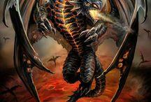 dragon tattoo mythical