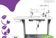 Industrial Sewing Machines / For atelier and textile and apparel industry.