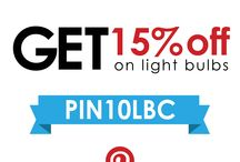 Discounts / by Lbc Lighting