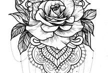Rose tatts