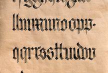 Kaligrafi & Lettering