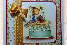 Cards I Love - Stamping Bella / Stamping Bella is one of my favorite stamp companies. Great images and great customer service. / by Diana Blessinger