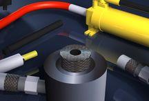 Design of Automotive Tools - Garage Tools / 3D Design and Scenes - Automotive Tools