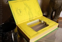 Groomsmen Gifts / Flask Books and Ringbearer Books, great for Groomsmen Gifts and weddings / by SecretSafeBooks.com
