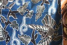 Indonesian Batik / Batik Yogyakarta dengan pewarnaan alam