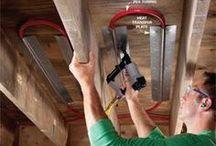 Under floor heating technology
