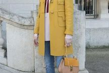 Let Yellow be your new neutral for Fall / All about lovely yellow things to wear in Fall and Winter 2015
