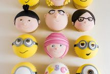 Malvado favorito cupcake