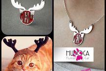 hudoca design dog , cat , paw print necklaces / sterling silver #dog #cat #paw  www.hudoca.com