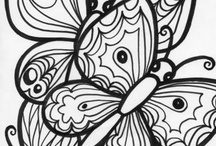 Coloring for adults / by Deeanna Bohnet