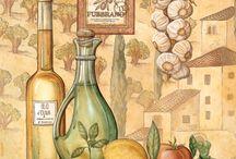 Cocina y cocineros / laminas de cocina / by Carmen Castañón Solís
