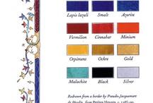 medieval colors
