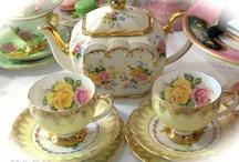 Precious Tea sets / by Elizabeth Melgoza