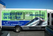Bus/Shuttle Wraps /  Please call us at 702.873.4463 or 714.998.8411 if you need any assistance with Bus Wraps. View our Gallery below for some sample work.