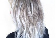 Blonďaté vlasy