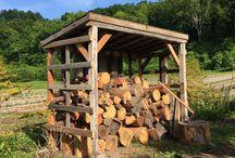 Wood Storage Pile