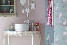 Banheiros & Lavabos / Porque banheiro também merece ser inspirador e não só funcional....