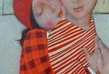Cecile Veilham Lovely art . / Cecile Veilham