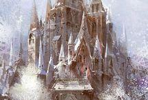 замок снежной
