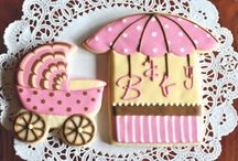 Baby Shower / welcome baby cookies / by Kelley Hart-Jenkins