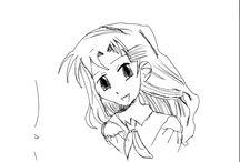 Manga girl / Daughter's art