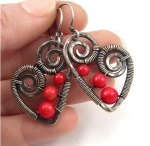 Biżuteria / Jewellery / DeeDeeArt.pl / Pins come from http://DeeDeeArt.pl - gallery of hand made earrings, bracelets, banglas