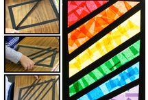 Kindergarten - Colors/rainbows / by Lahna Tran