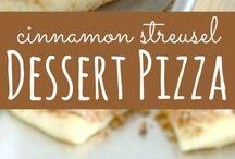 Dessert Pizzas!!!