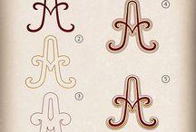 Inspiratie Hand lettering