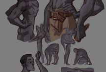 Character design Inspirations