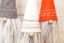 Boże Narodzenie- Mikołaje, renifery i inne szmaciaki