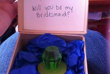 Bridesmaid Ask Gift