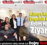 Alanya Kent Konseyi Adem Murat Yücel'i Ziyaret Etti