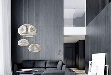 Wood panel walls