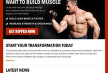 bodybuilding ppv landing page