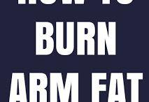 burn arm fat fast