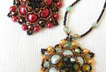 beaded pendants / by Carmen Garling