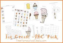 Summer Fun/Ice Cream Theme