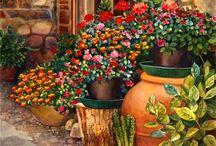 Gardens art