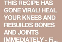 Healing remedy for knees