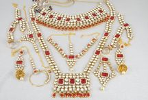 Indian Bridal Necklace and Pendant Set