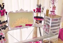 DIY Dressing table Organisation