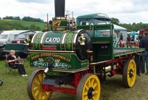 Old Steam Trucks