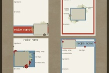 Create Digi: Cook Book / digital scrapping items for my vintage-style family cookbook project / by Andrea Stolba-Ritzke
