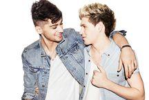 Ziall / Zayn Malik and Niall Horan