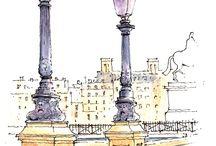 PARIS SCETCHES
