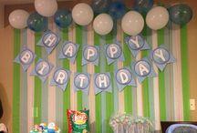 Bubble Bubble Guppies party